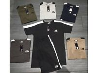 Men's shorts & tshirts set (wholesale)