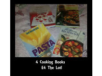 Four Cook Books £4 The Lot!