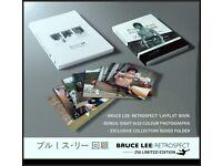 BRUCE LEE ENTER THE DRAGON RETROSPECT BOOK PHOTOS AND FOLDER
