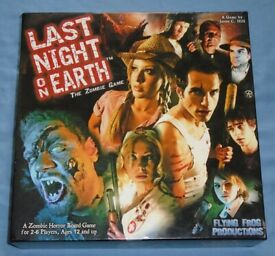 'Last Night On Earth' Board Game