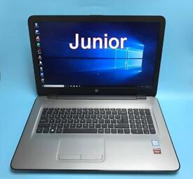 "HP i5 UltraFast 17.3"" Full HD, 8GB DDR4, 1TB SSHD Gaming Laptop, Radeon R7 M440, Boxed Like New"