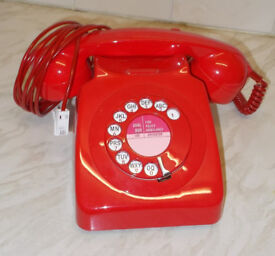 Fully working and converted 1970's BT/ GPO 746 telephone