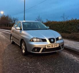 SEAT IBIZA 1.2 2008 5 DR 43,000 miles * Full Seat Service History * 12 months MOT