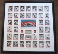 TEAM CANADA '72 SIGNED CARD SET FRAMED incl. DRYDEN EAGLESON ++!