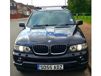 2005 (55 reg) BMW e53 X5, 3 litre diesel, 6 gear automatic, 218BHP sport facelift model