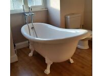 Freestanding Slipper Bath Tub