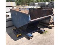 👷🏽 Forklift Tipping Skip / Waste Bin