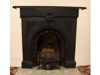 Victorian or Edwardian Cast Iron Fireplace
