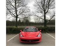 Ferrari, 458, Car, Prom, Wedding, Supercar, Chauffeur, Hire, Ferrari 458, BMW, 8 Series