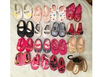 Girls shoes bundle 0-6m