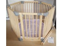 Clippasafe Wooden Playpen with Base Mat