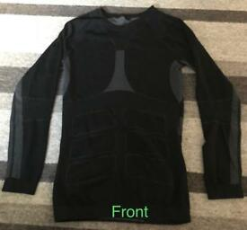 "Mens - New - Pack of Two 'Vitalotex' Thermal Base Layer Tops - Size S (34""-36"")"