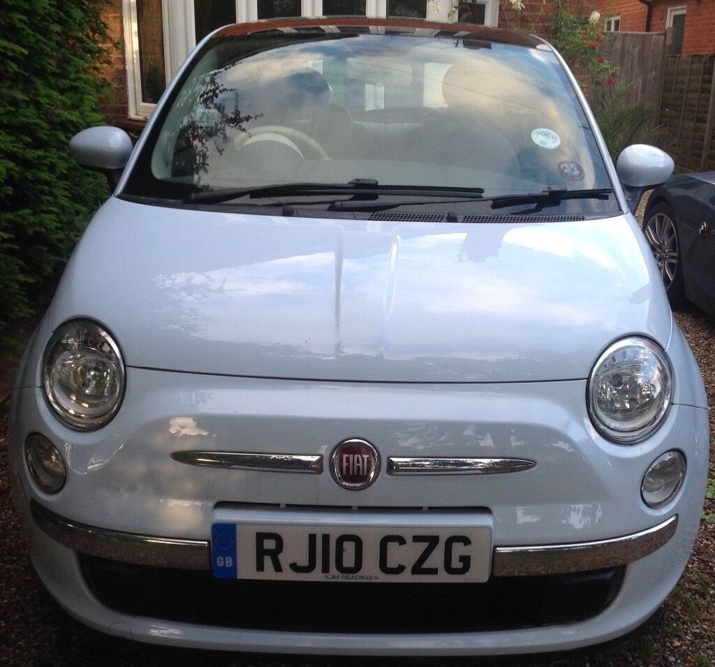 Fiat 500 Lounge Light Blue In Caversham Berkshire Gumtree