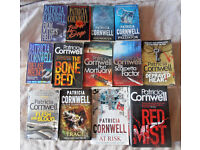 THIRTEEN PATRICIA CORNWELL BOOKS