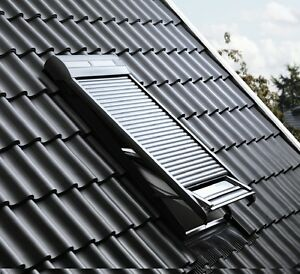 velux solar rollladen ssl 0000s original solarbetrieben. Black Bedroom Furniture Sets. Home Design Ideas