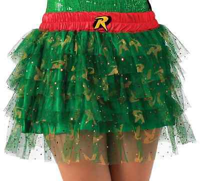 Robin Tutu Skirt Batman Superhero Fancy Dress Halloween Adult Costume - Batman Skirt