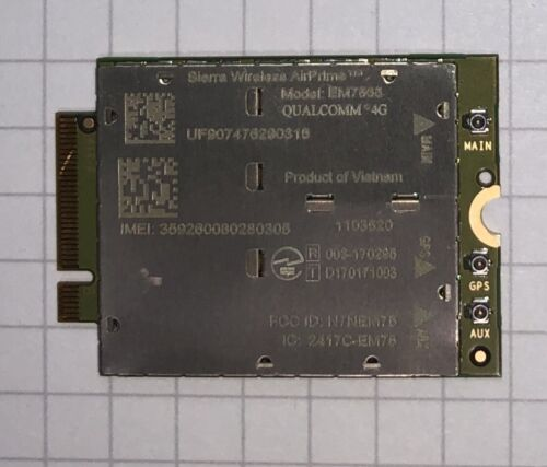 NEW Sierra Wireless EM7565 M.2 broadband modem module