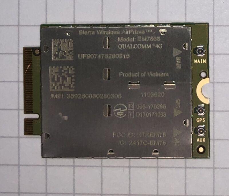 Sierra AirPrime EM7455 M.2  Generic Unlocked UNBRANDED Sierra Brand MC7455 NGFF
