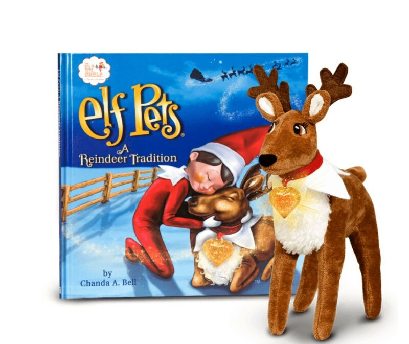 Elf on a shelf Reindeer Pets tradition