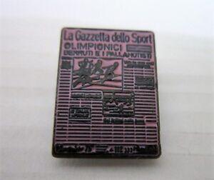 2000 SYDNEY Olympics LA GAZZETTA DELLO SPORT ITALY MEDIA pin badge - Italia - 2000 SYDNEY Olympics LA GAZZETTA DELLO SPORT ITALY MEDIA pin badge - Italia