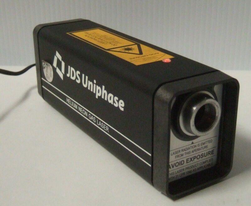 JDS UNIPHASE Model 1508-1 Helium Neon Gas Laser Novette T8015680
