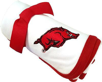 Arkansas Razorbacks Baby Receiving Blanket