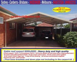 New  carport 6 x 9  $2350 or 6 x 12  $ 2960 Prestons Liverpool Area Preview