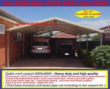 New gable roof carport sale 6 x 9  $2300 or 6 x 12  $2960 Prestons Liverpool Area Preview