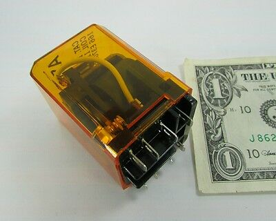 New Asco Amber Ice Cube Relays 110vdc 110v Dc Coil 8 316 Terminals 115271 920