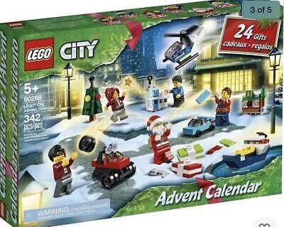 Lego City Advent Calendar 60268 Play Set Holiday Building Festive City Play