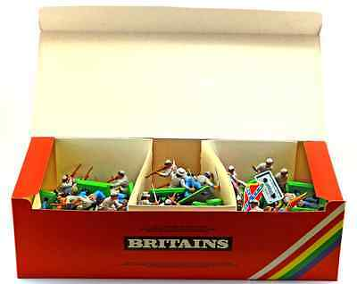 Britains Deetail C.S.A. Infantry - 48 Figures - # 7440 mint in counter pack