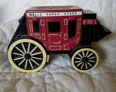 1998 Wells Fargo Stage Coach Union Trust San Francisco Metal Bank W  Key