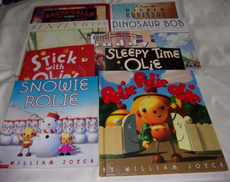 Set of 9 William Joyce picture books: Rolie Polie Olie+
