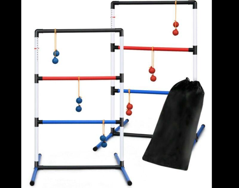 Ladder Ball Set Golf Toss Game Backyard Toys Outdoor