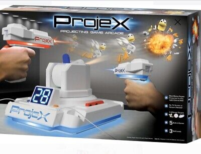 ProjeX Image Projecting Arcade Game Includes Image Projector Unit and 2 Blasters