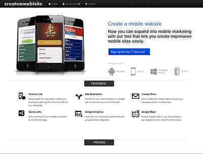 Established Complete Mobile Website Builder 100 Automated Instant Profit