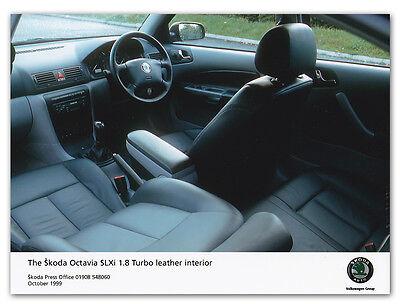 Skoda Octavia SLXi 1.8 Turbo Leather Interior Press Release Photograph