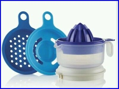 TUPPERWARE ALL IN ONE MATE ZESTER STRAINER JUICER EGG SEPARATOR MEASURING CUP