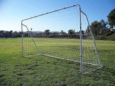 Soccer Goal 12' x 6' Football W/Net Straps, Anchor Ball Training Sets sports New
