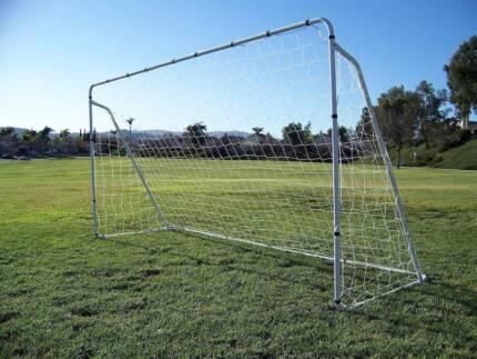 SOCCER FOOTBALL GOAL NET STEEL MESH GAME KEEPER POST INDOOR