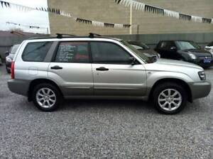 2005 SUBARU FORESTER XS AWD 5 SPEED GOOD KMS ONLY $5,990 Klemzig Port Adelaide Area Preview