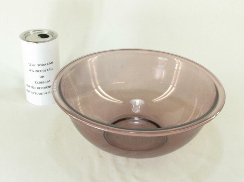 "Pyrex Originals  #325 Cranberry Large 9"" Nested Mixing Bowl 2.5L"