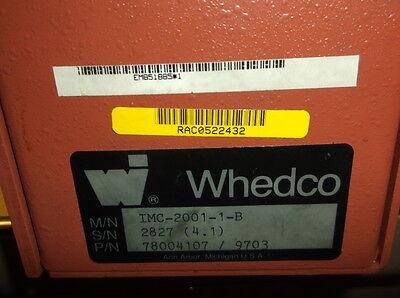 Whedco Stepper Drive Imc-2001-1-b Used