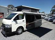 2011 TOYOTA HIACE FRONTLINE CAMPER VAN POP TOP LOW KMS  $37,990 Klemzig Port Adelaide Area Preview
