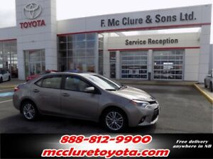 2014 Toyota Corolla LE WITH SUNROOF ALLOY WHEELS