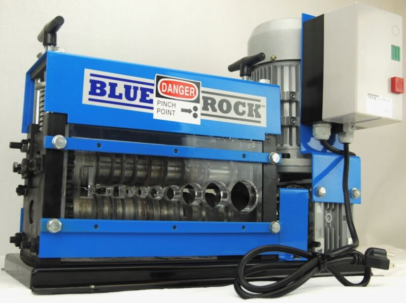 BLUEROCK® Tools Model MWS-808PMO Wire Stripping Machine Copper Cable Stripper