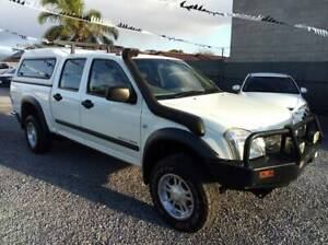 2003 HOLDEN RODEO LX 4X4 TURBO DIESEL AUTO GOOD KMS $9,990 Klemzig Port Adelaide Area Preview
