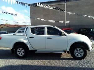 2014 MITSUBISHI TRITON GLX 4X4 TURBO DIESEL AUTO $16,990 Klemzig Port Adelaide Area Preview