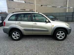 2002 TOYOTA RAV4 CRUISER AWD AUTO SUNROOF GOOD KMS ONLY $5,990 Klemzig Port Adelaide Area Preview