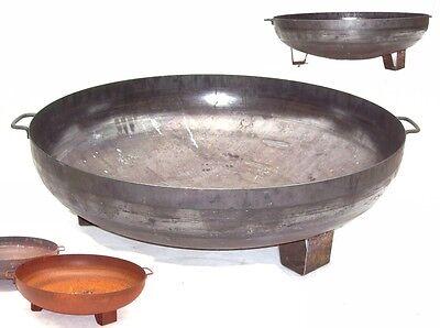 44409 Feuerschale 1000mm Feuerkorb Pflanzschale Grillboden 100 cm Grillschale
